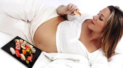 Морепродукты в рационе беременных женщин