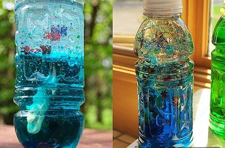 Море в бутылке