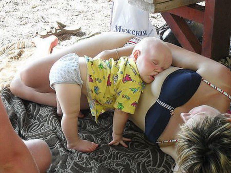 Спящие дети фото