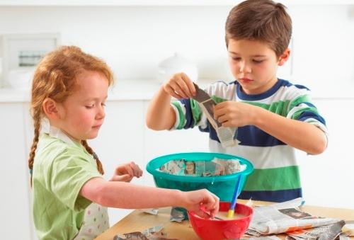 Домашние рецепты для детского творчества