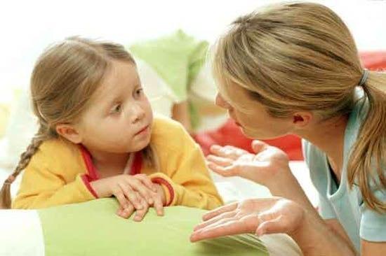 Как правильно разговаривать с детьми?