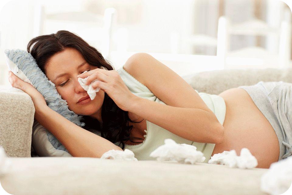 Беременность и прстуда