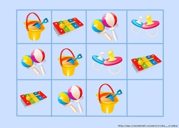 картинки для детей чего не хватает