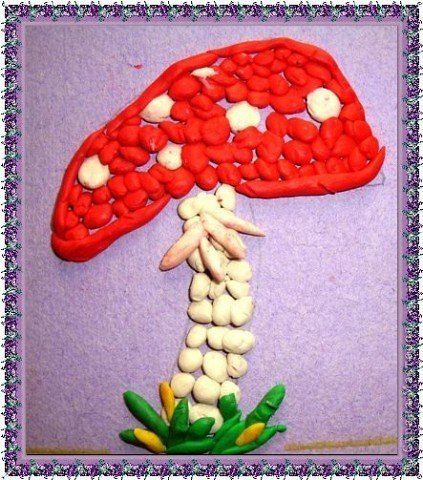Лепка из пластилина для детей