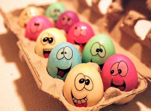 Поделки из картонных лотков для яиц
