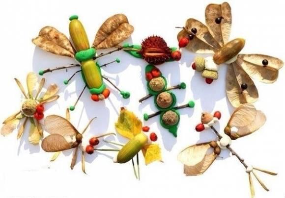 Поделки из желудей для детей