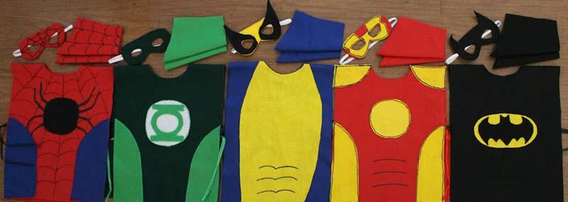 Костюмы супергероев своими руками для мальчиков