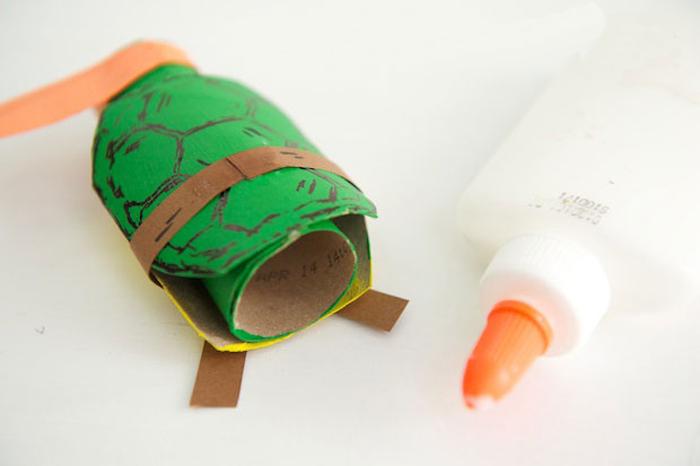 Как сделать Черепашек Ниндзя из бумаги