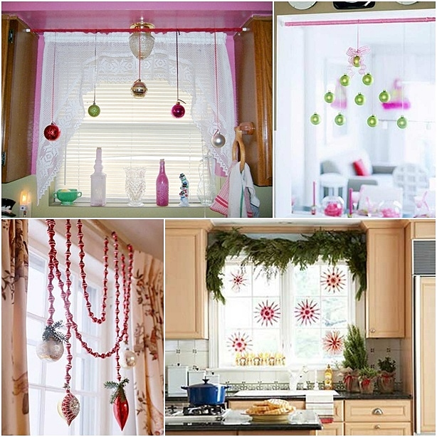 Как украсить окна к Новому году?