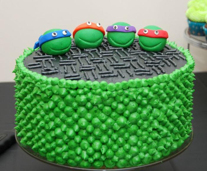 Детский день рождения в стиле Черепашек Ниндзя