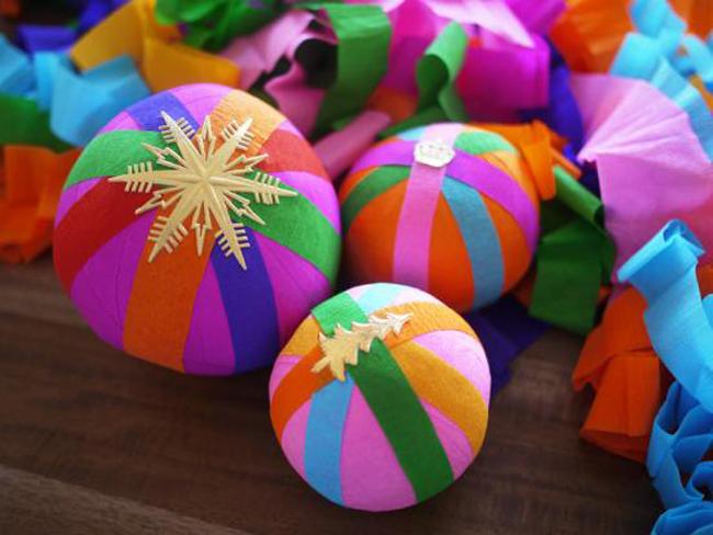 Новогодний шар с сюрпризом своими руками