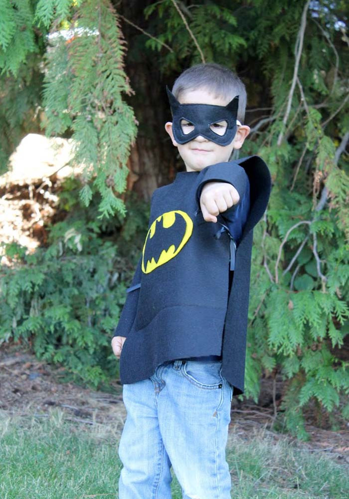 Костюм Бэтмена своими руками