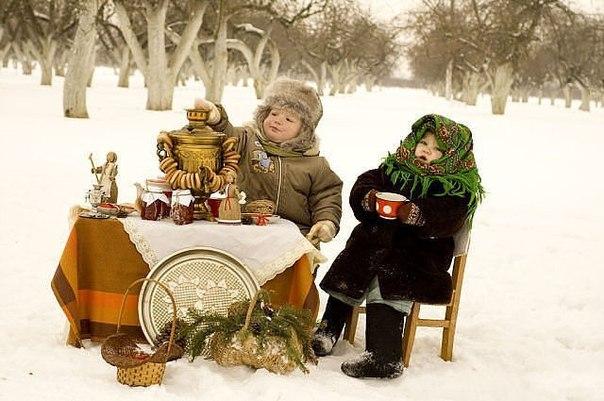 Зимний пикник для детей