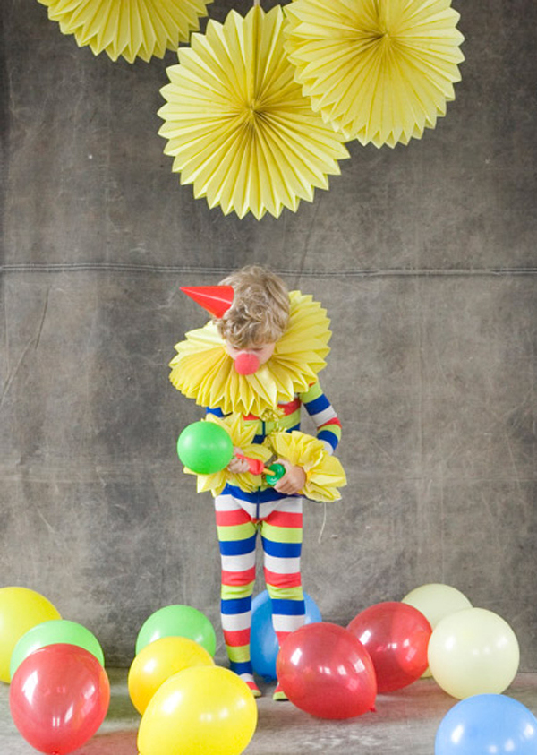 Костюм клоуна для мальчика своими руками