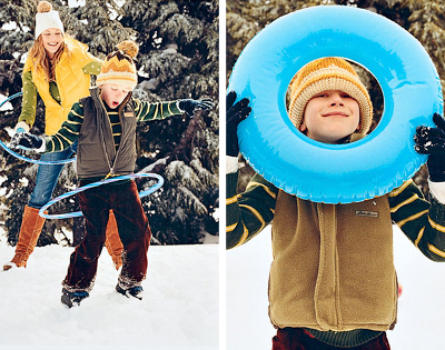 Подвижные зимние игры