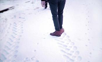 Делаем следы трактора на снегуДелаем следы трактора на снегу
