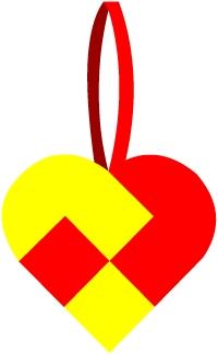 Плетеные сердечки ко Дню Святого Валентина