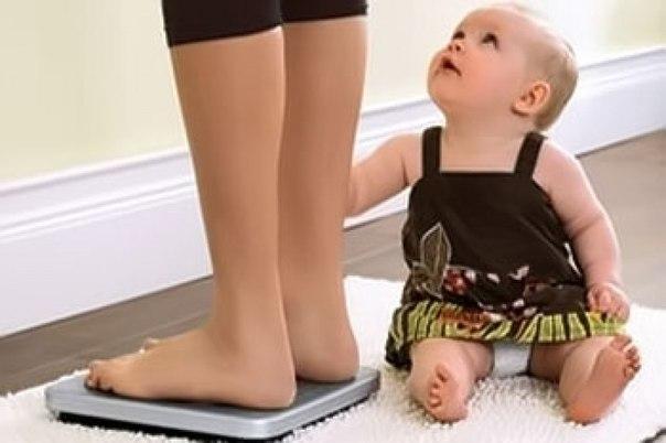 Вес после родов стоит на месте