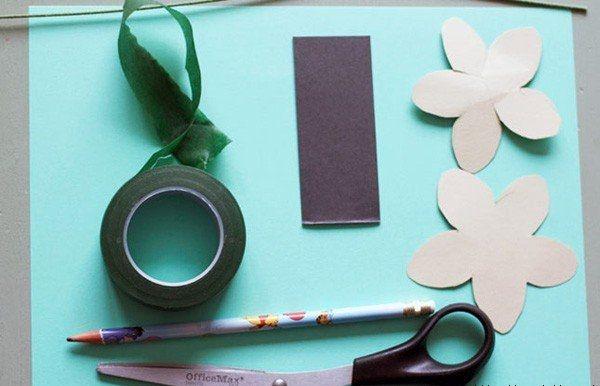 Поделки для детей из цветой бумаги