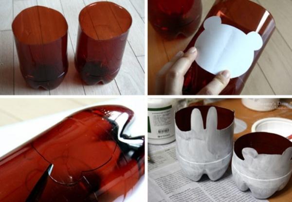Как сделать кашпо из пластиковой бутылки