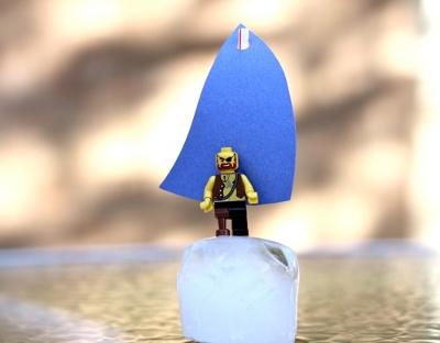 Кораблики из льда для детей