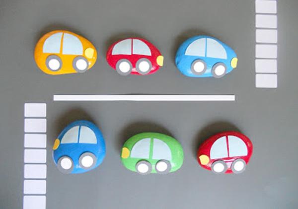 Машинки из камней