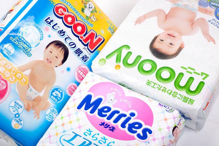 Популярные фирмы японских подгузников
