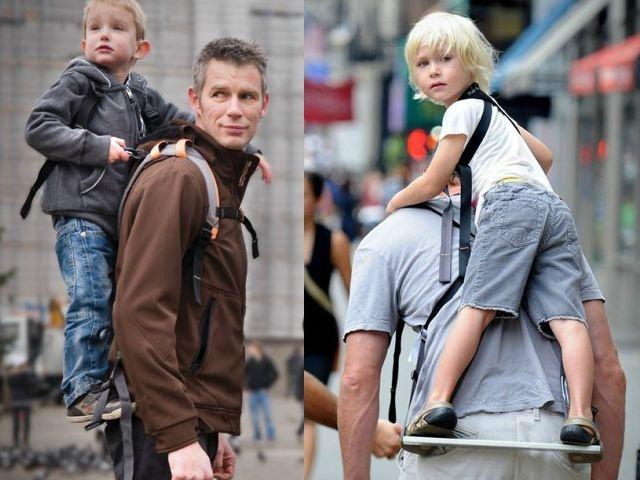 Рюкзак-подставка для малыша