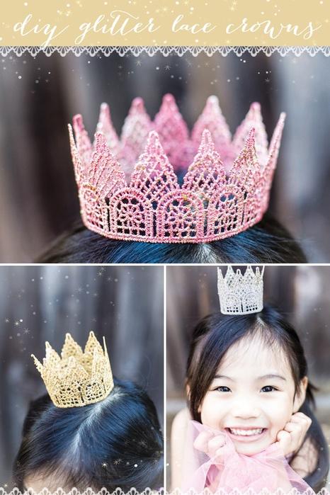 Корона для девочки своими руками