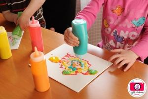 Объемные краски для детей