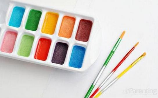 Акварельные краски своими руками