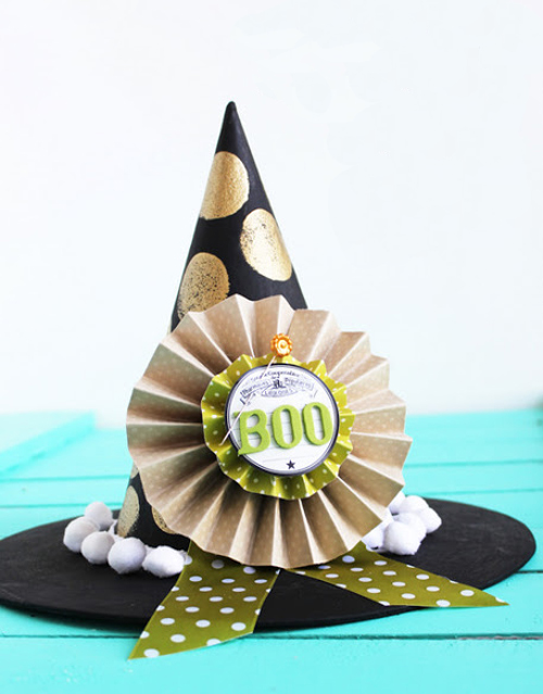 Как сделать шляпу для ведьмы на Хэллоуин?