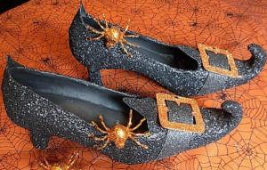 Как сделать туфли для ведьмы на Хэллоуин?