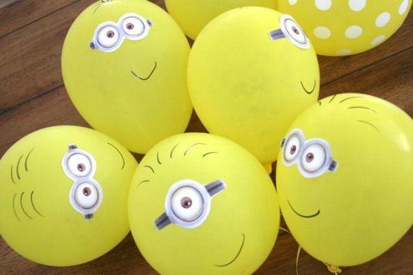 Украшение детского праздника в стиле миньонов