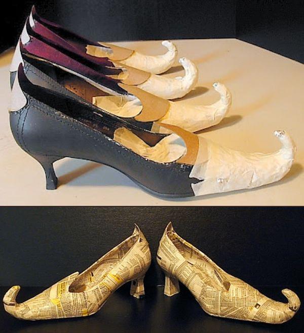 Туфли для ведьмы на Хэллоуин