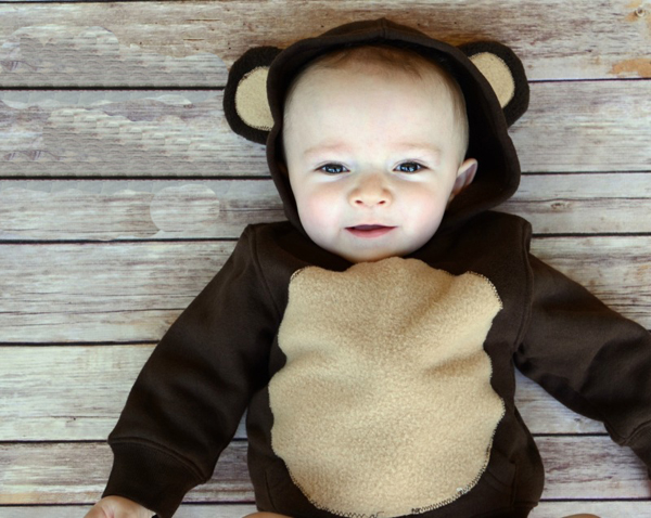 Детский новогодний костюм обезьяны