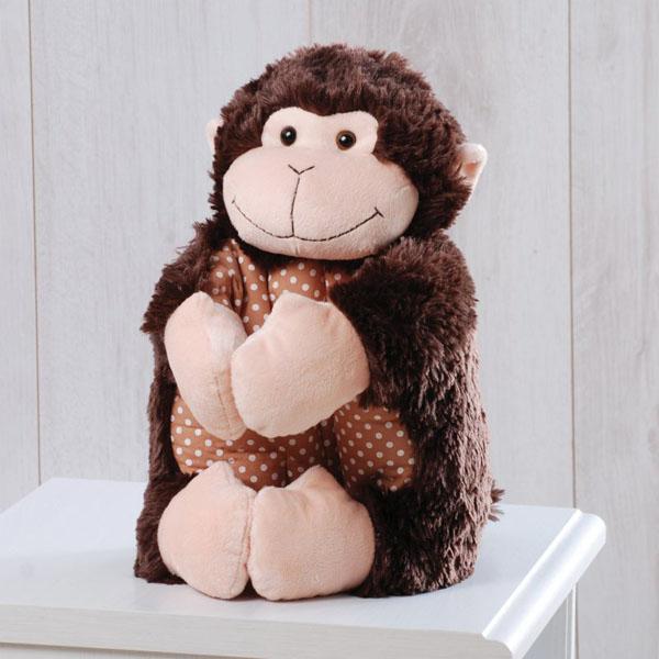 Подушка-игрушка в виде обеезьянки