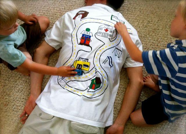 Игра для папы и детей