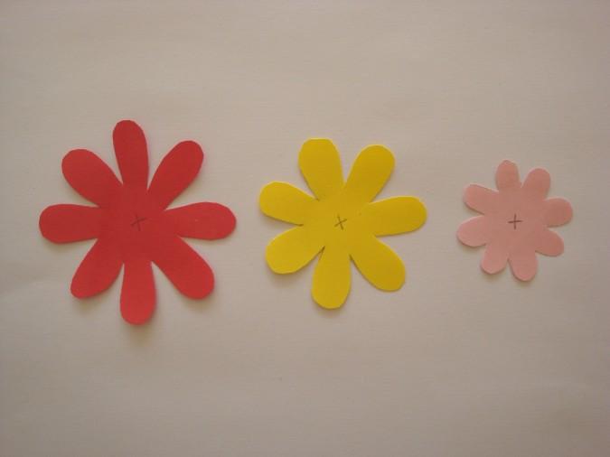 Готовые заготовки для цветков