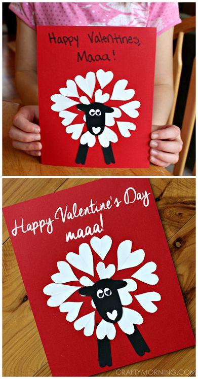 Детские открытки ко Дню Святого Валентина