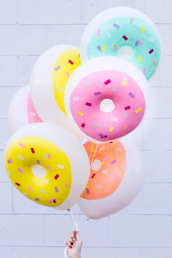 Пончики из воздушных шариков