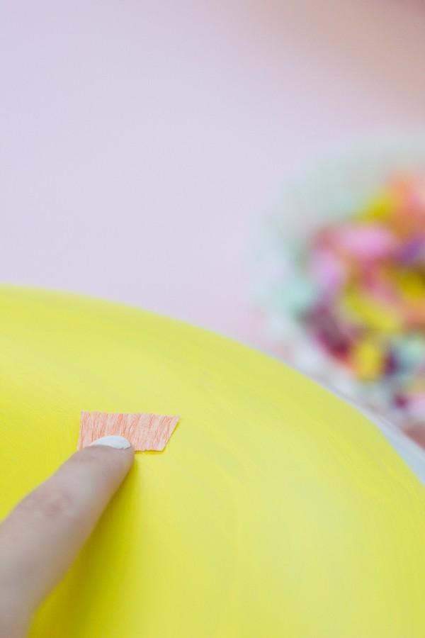 пончик из воздушного шара