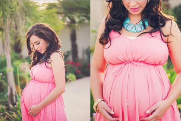 Нежная фотосессия беременной