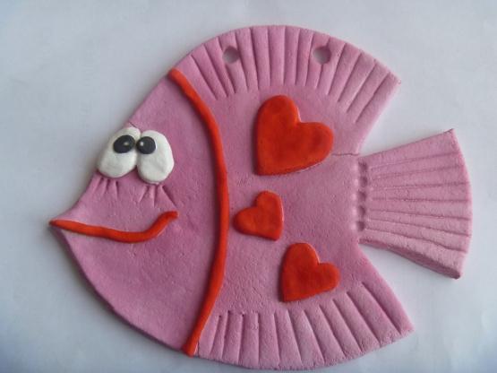 Влюбленная рыбка ко Дню Святого Валентина