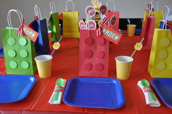 Сладкий стол в стиле Лего