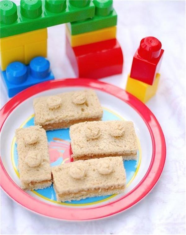 Печенье в стиле лего