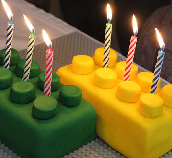 Торт Лего из мастики