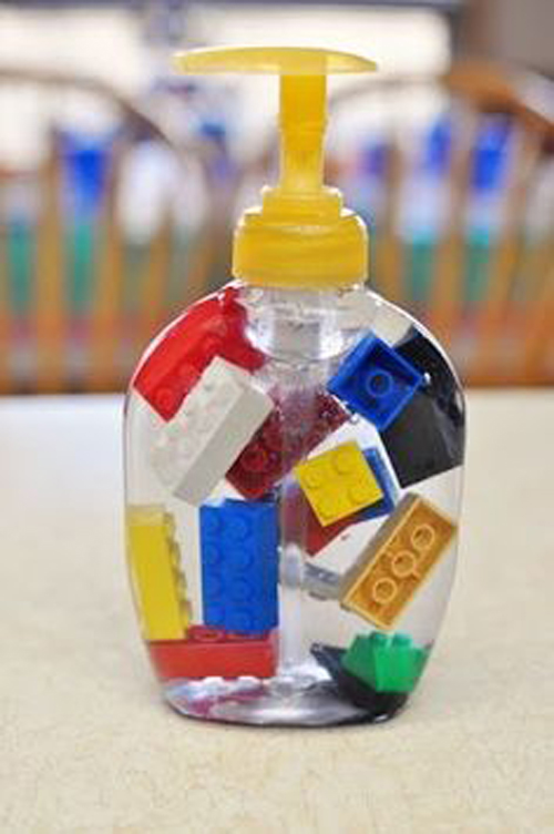 Жидкое мыло Лего