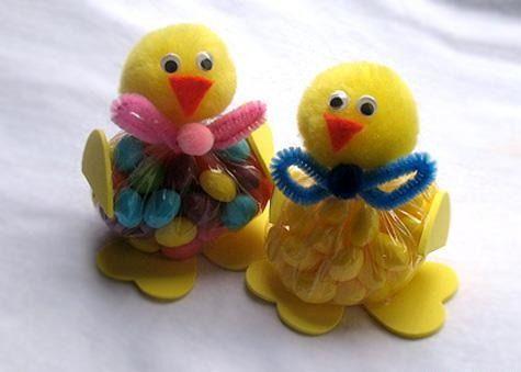 Пасхальный подарок в виде цыпленка