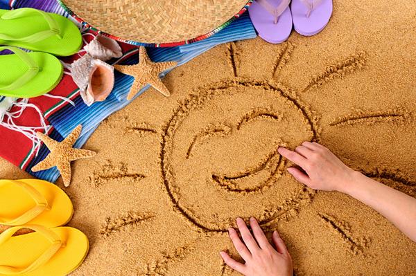 Пляжные игры для детей